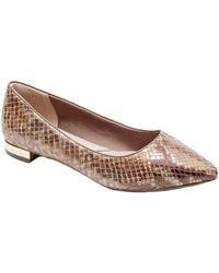 Rockport - Total Motion Adelyn Leather Ballet Flat, 8 - Lyst