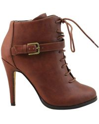 Michael Antonio - Womens Lucy Closed Toe Ankle Fashion Boots - Lyst