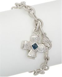 Judith Ripka   Silver 0.56 Ct. Tw. Gemstone Bracelet   Lyst