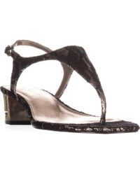 b288e1de4ff Lyst - Adrianna Papell Aiden Platform Strappy Evening Sandals ...