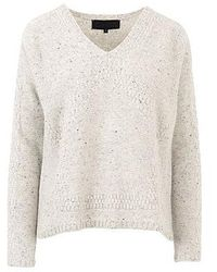 Quinn - Solana Dodecahedron Intarsia Sweater - Lyst