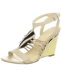 CALVIN KLEIN 205W39NYC - Womens Marion Open Toe Casual Ankle Strap Sandals - Lyst