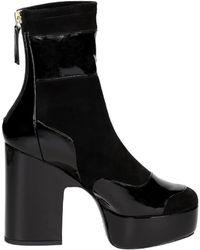 Pierre Hardy - Women's Black Suede Ankle Boots - Lyst