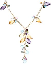 Effy - Fine Jewelry 14k 62.51 Ct. Tw. Gemstone Necklace - Lyst