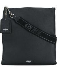 Golden Goose Deluxe Brand - Women's G33wa397a1 Black Leather Shoulder Bag - Lyst