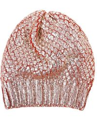 Blugirl Blumarine - Women's Orange Wool Hat - Lyst