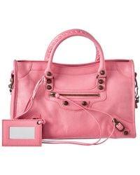 Balenciaga - Classic City Small Aj Leather Shoulder Bag - Lyst