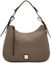 05b2e626661 Dooney   Bourke - Becket Large Riley Hobo Shoulder Bag - Lyst