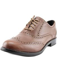 Cole Haan - Skylar Wingtip Toe Leather Oxford - Lyst
