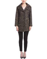 Karen Millen - Texture Unstructured Wool-blend Coat - Lyst