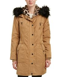 Belle By Badgley Mischka - Belle By Badgley Mischka Sonya Coat - Lyst