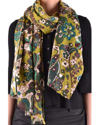 Altea - Women's Multicolor Wool Scarf - Lyst