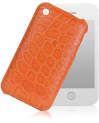 Giorgio Fedon - Croco-stamped Leather Iphone 3 Case - Lyst