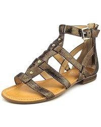 Marc Fisher - Women's Brandi Flat Gladiator Sandals - Lyst