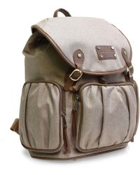 Adrienne Vittadini - Two-tone Nylon Collection Backpack - Lyst