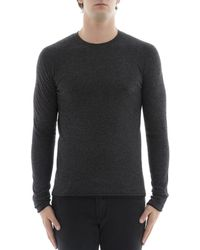 Rag & Bone - Men's Grey Cotton Sweater - Lyst