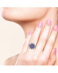 Socheec - Lovely Tanzanite Ring In Silver - Lyst