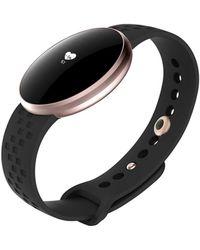 Swiss Time Watches - Metallic Rose Gold Navy Smart Watch - Lyst