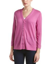 Magaschoni - Silk & Cashmere-blend Cardigan - Lyst