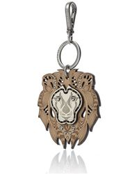 Nada Sawaya - Lion - Laser-cut Calf Leather Charm - Lyst