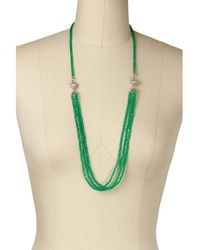 Saachi - Simply Long Crystal Necklace - Lyst