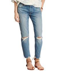 Denim & Supply Ralph Lauren - High Rise Tapered Jeans - Lyst
