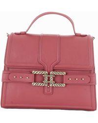 Elisabetta Franchi - Women's Red Polyurethane Handbag - Lyst