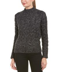 Six Crisp Days - Cable-knit Wool-blend Jumper - Lyst