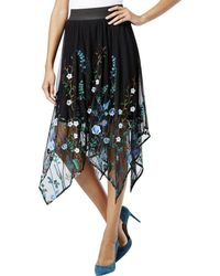 INC International Concepts - Inc Womens Embroidered Handkerchief Hem Tutu Skirt - Lyst
