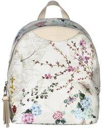 Alviero Martini 1A Classe - Women's White Pvc Backpack - Lyst