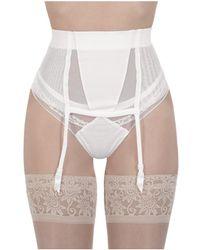 La Perla - Women's White Polyamide Socks - Lyst
