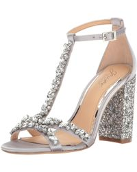 Badgley Mischka - Womens Carver Open Toe Special Occasion Ankle Strap Sandals - Lyst