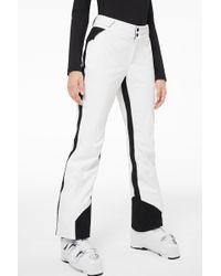 Bogner - Vessa Ski Trousers In Off-white/black - Lyst