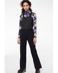 4d35f95670 Bogner - Caila Ski Trousers With Bib In Navy Blue - Lyst