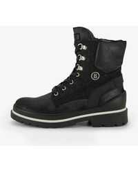 Bogner - St. Moritz Winter Shoes In Calfskin In Anthracite - Lyst