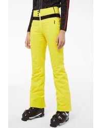 Bogner - Borja Ski Trousers In Yellow - Lyst