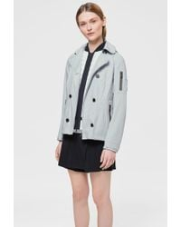 Bogner - Mine Jacket In Light Gray - Lyst