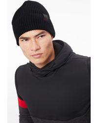 Bogner - Vasco Knitted Hat In Black - Lyst
