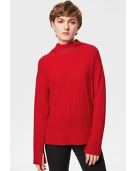 Bogner - Maia Knit Pullover In Red - Lyst
