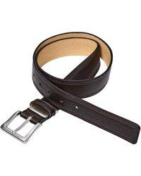 Bogner - Leather Belt Tom - Lyst