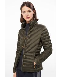 Bogner - Lightweight Down Jacket Diana In Khaki Green - Lyst
