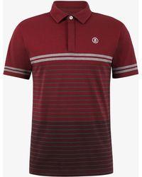 Bogner - Jany Polo Shirt In Burgundy Red - Lyst