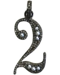 """The Woods Jewelry - Small """"two"""" Pendant - Lyst"""