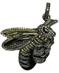 The Woods Jewelry - Bee Pendant - Lyst