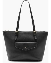 Boohoo - Pocket Popper Pu Day Bag - Lyst