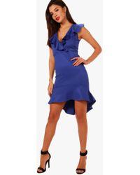f2e9d865f1c9 Lyst - Susana Monaco Phoebe Maxi Dress in Black