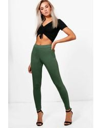 e933a1b213e1 Boohoo Rosie Fit Mesh Panel Running Leggings - Lyst