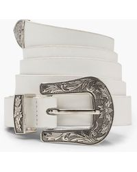 Boohoo - Plus Western Buckle Belt - Lyst