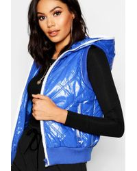 Boohoo - Padded Gillet - Lyst