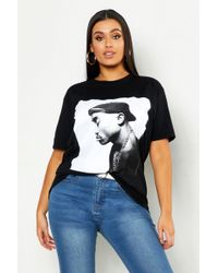 7e2bf6c412a4 TOPSHOP Tupac Tee By And Finally in Black - Lyst